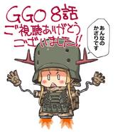 Tamori Tadadi's Fukaziroh illustration for AGGO episode 8