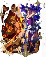 Alicization War of Underworld BD-DVD V4 Cover