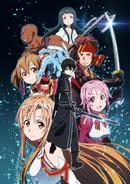 Anime S1 Aincrad arc poster