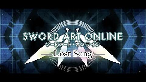 Sword Art Online Lost Song Launch Trailer PS4, PSVita