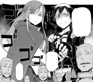 SAO players' image of Asuna and Kirito as the strongest pair in the game - Progressive manga c33