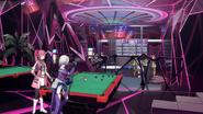 Kureha and Zeliska in a bar in GGO during Sinon's meeting with Kirito's gang S03EP01