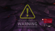 Heart rate warning