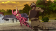 LLENN about to shoot the second member of Narrow