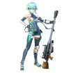 Sinon Fatal Bullet alternative character design