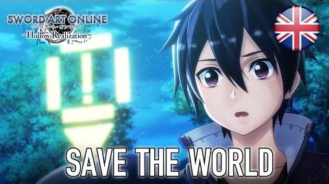 Sword Art Online Hollow Realization - PS4 PS Vita - Save the world (English Trailer)