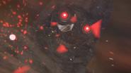 Death Gun's camouflage breaking in Fatal Bullet