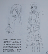 Abecs Artworks art book GGO Kirito concept