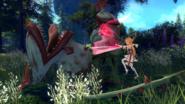 Asuna Hollow Realization combat