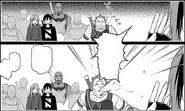 Kibaou bursting into laughter after Lind's grandiose speech - Progressive manga c21