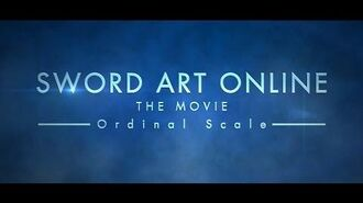 SWORD ART ONLINE the Movie -Ordinal Scale- Trailer