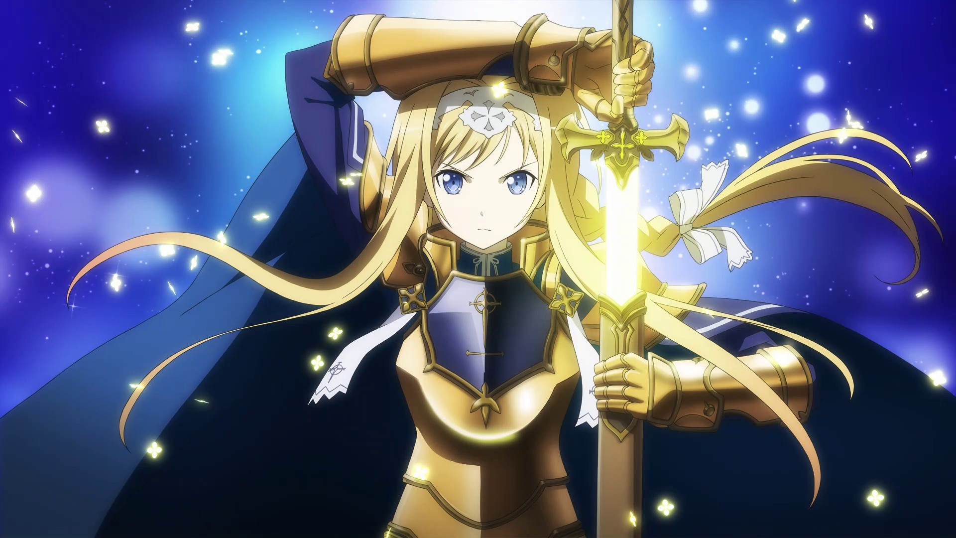 Alice Synthesis Thirty preparing to fight in Alfheim MT.png