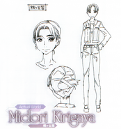 Midori Kirigaya The Perfect Guide Animation Sword Art Online