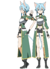 Sinon's ALO Avatar Full Body