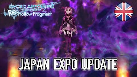 Sword Art Online - Japan Expo Update (Japan Expo Trailer) (English)