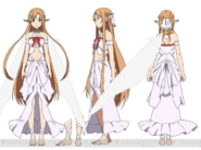 Asuna as Titania Design