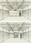 Design Works Kirigaya Residence dojo and dojos shrine