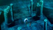 Undersea temple barrier