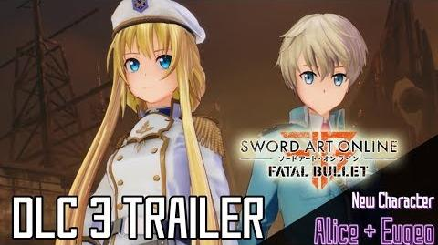 Sword Art Online Fatal Bullet - DLC3, Collapse of Balance Trailer & Release Date!! PS4 XB1 PC