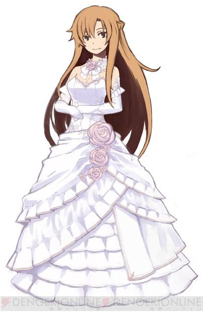 Asuna Wedding Dress Png