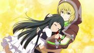Argo hugging Yui