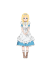Child Alice UW Full Body