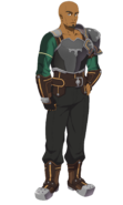 Agil Hollow Realization character design