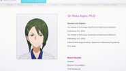 Excerpt of Koujiro Rinko's data found by Yui - S3E05