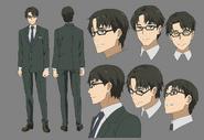 Kikuoka Character Design
