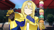 Alice eating ice cream after her Heroine Event HR DLC3