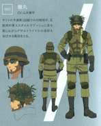 Uemaru character design (booklet)