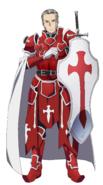 Heathcliff Hollow Fragment character design