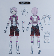 Lisbeth concept from Fatal Bullet Guide