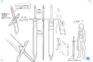 Concept for Anneal Blade from Design Works art book