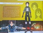 Protagonist Concept Art FB Artbook
