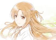 Asuna illustration by Yamada Koutarou for Alicization Episode 06