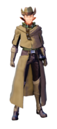 Dyne Fatal Bullet character design