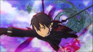 Kirito Millennium Twilight combat