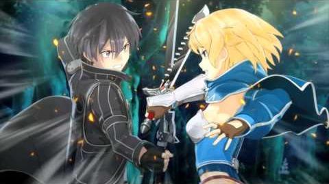 PS Vita「ソードアート・オンライン ―ホロウ・フラグメント―」60秒CM