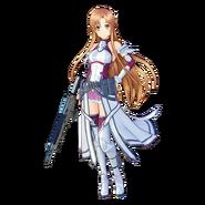 Asuna Fatal Bullet character design