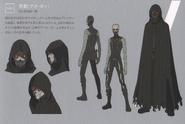 Death Gun character design art (pamphlet)
