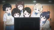 SHINC members choosing to play GGO to improve their teamwork AGGO S01E06