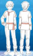 Teenager Kirito concept Dengeki Bunko Magazine vol 62