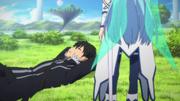 Asuna meets Kirito