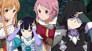 Asuna and Lisbeth concerned over Tia and Premiere's issues HR DLC2