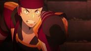 Klein removing his Augma to fight Eiji