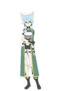 Sinon Millennium Twilight character design