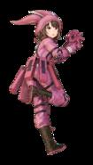 LLENN Fatal Bullet character design