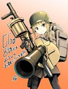 Ishiguti Juu's Fukaziroh illustration for AGGO episode 8