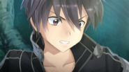 Kirito noticing Philia's orange cursor